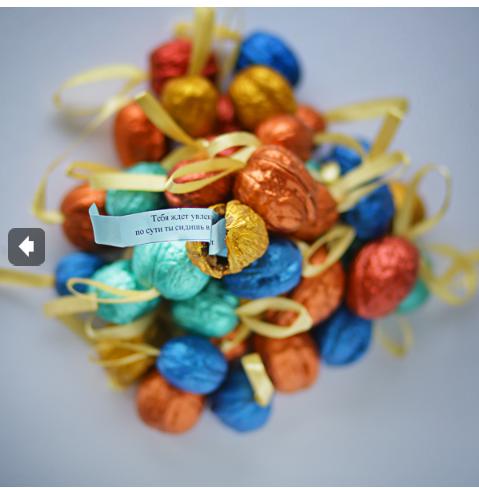 Необычные подарки: орешек с предсказанием, туалетная бумага с анекдотами, пакет для подарков Дарёный конь, нож-кредитка, кружка-хамелеон и многое другое. Готовим подарки к Новому году!