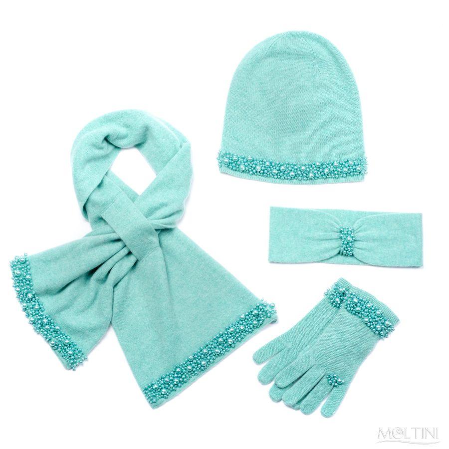 Красота по итальянски от MOLTINI: шапки, перчатки, палантины и другие аксессуары из кашемира, шерсти, шелка
