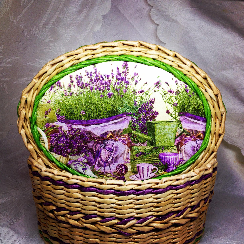 Плетеные корзинки ручной работы на заказ.