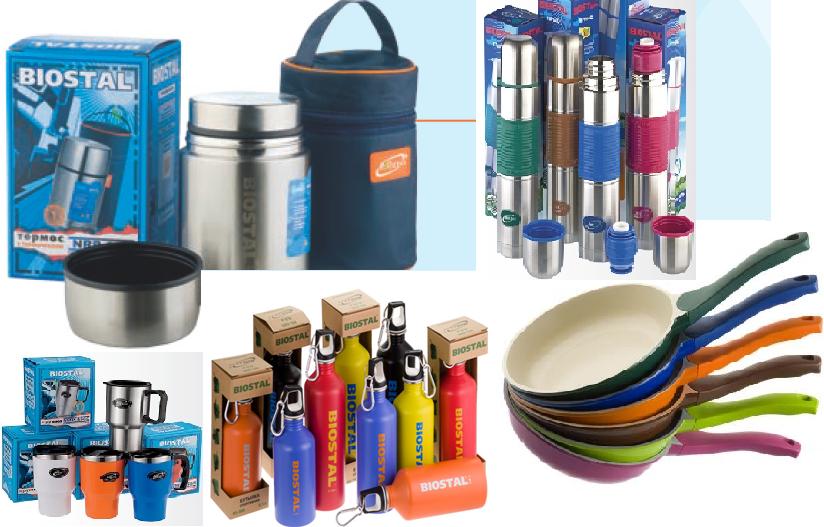БиоСталь - термосы, кружки, а теперь и сковороды с керамопокрытием и для индукции. Сбор заказов