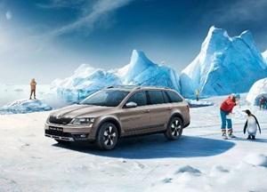 В Автопраге стартовали продажи долгожданной новинки SKODA Octavia Scout