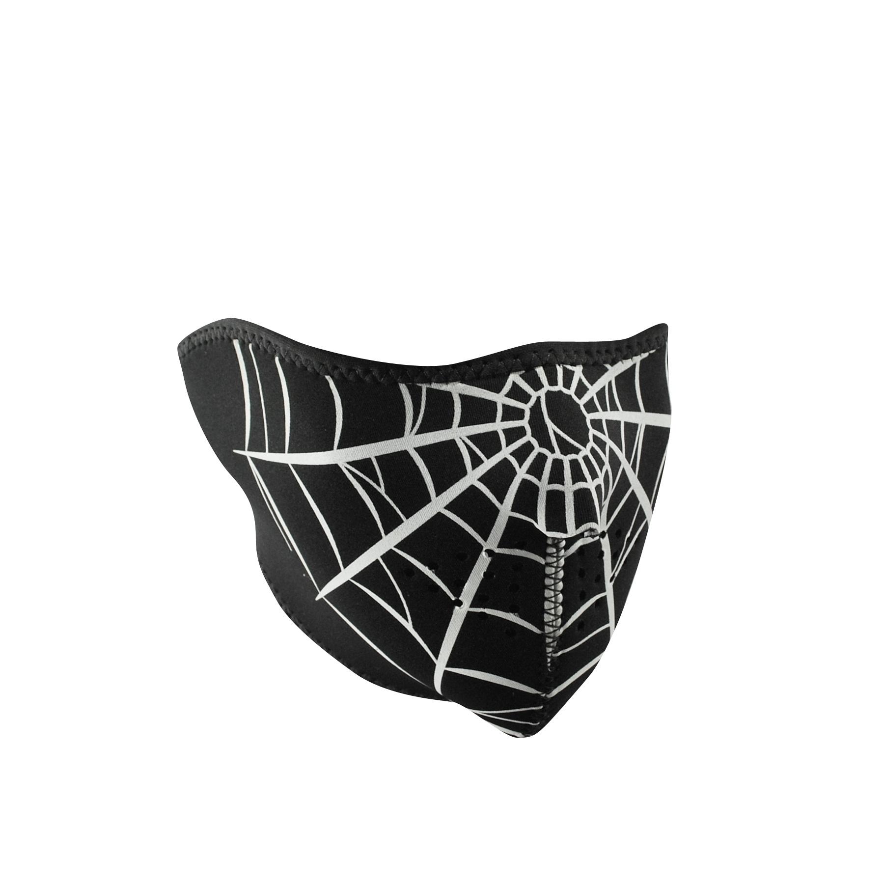 Неопреновая полумаска ZAN Spider Web