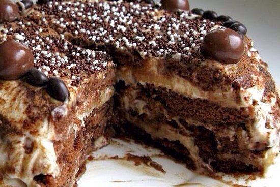 Пряничный торт.