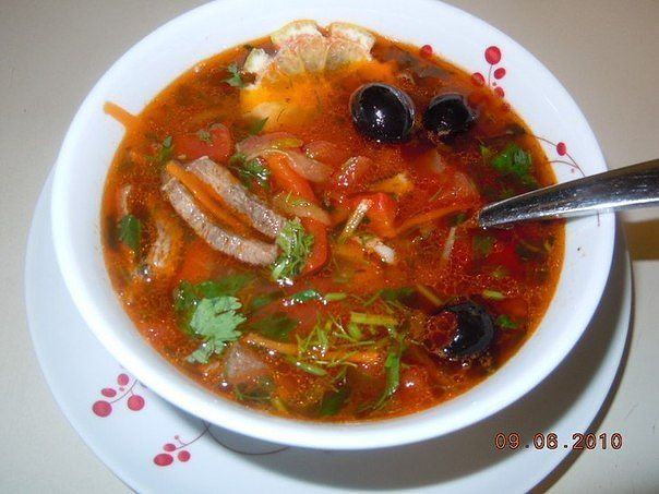 ТОР - 7 Вкусных и горячих первых блюд