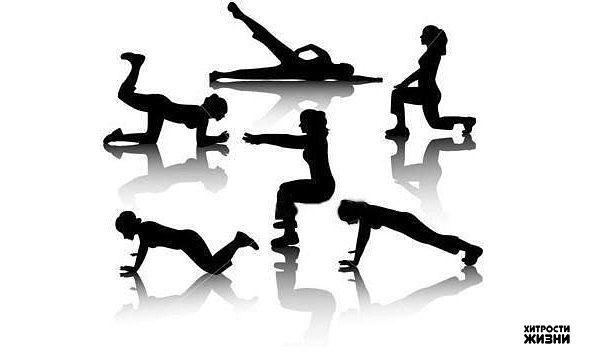 Упражнения, которые избавят от живота и боков.