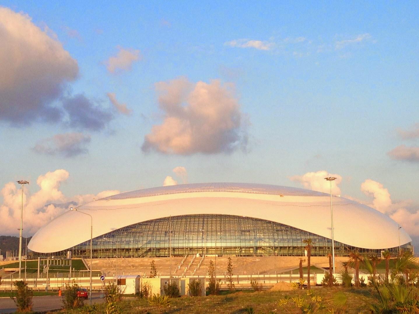 Олимпийский парк после Олимпиады