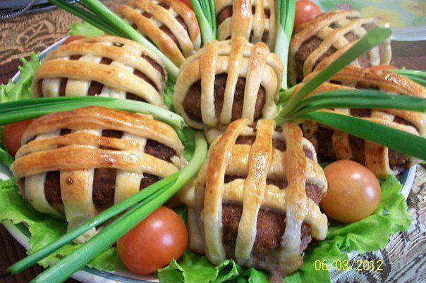 СУНДУЧКИ С ПЕРЕПЕЛИНЫМИ ЯЙЦАМИ. Необычное и нарядное блюдо