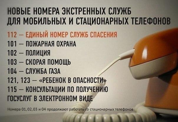 ВАЖНО! Полезные номера телефонов