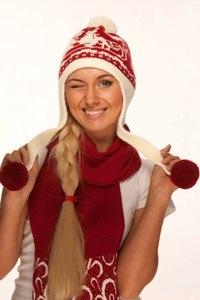 Стильные женские головные уборы. Новогодняя коллекция. Сам себе Дед Мороз.