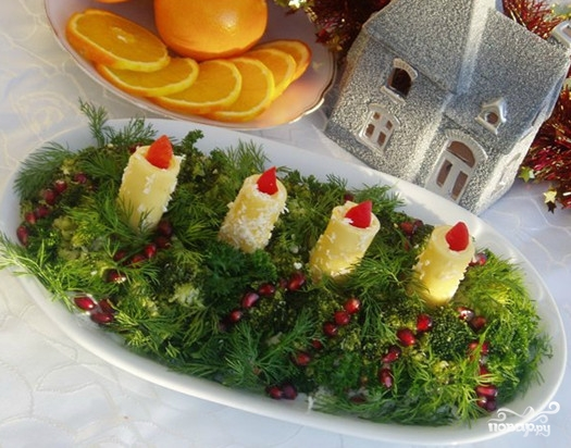 Новогодний салат Адвент