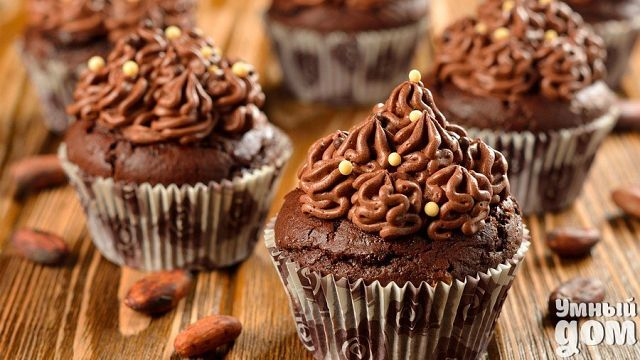 Кексы с какао: домашний рецепт