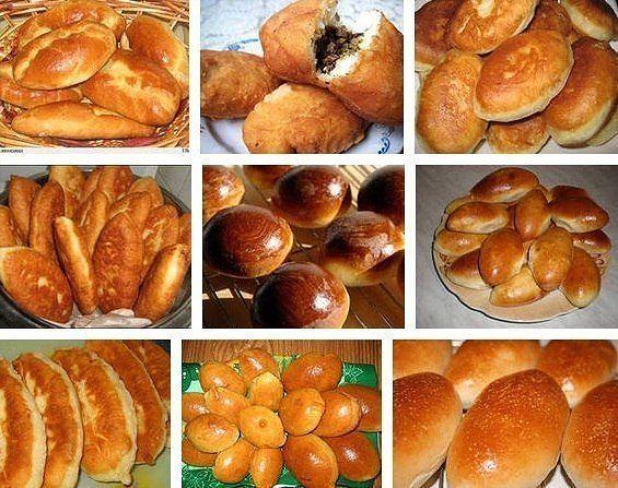 Пирожки. Подборка из 13 рецептов