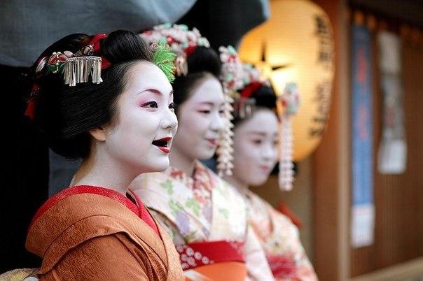 В Японии издавна существовала традиция охагуро