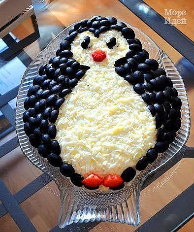 Салат Пингвинёнок