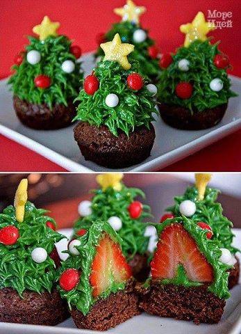 Потрясающий новогодний десерт