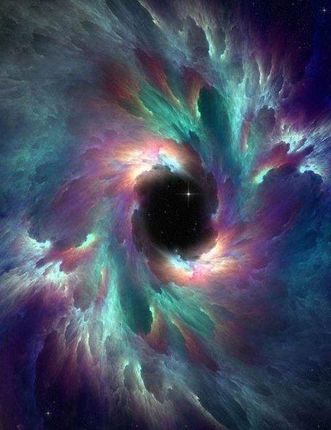 Разнообразие красок необъятного космоса.
