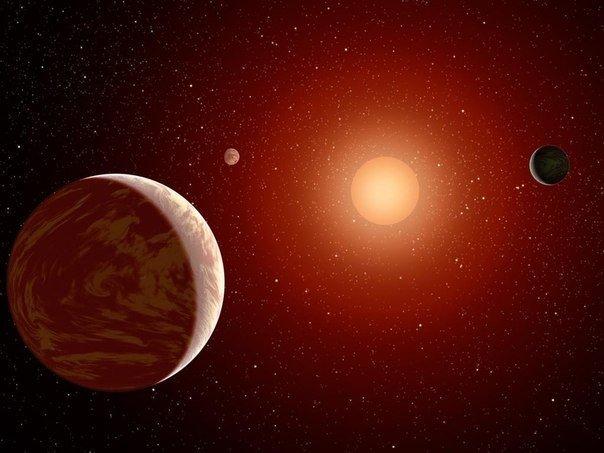 Обнаружена звездная система с 7 планетами