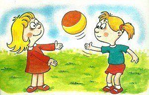Подвижные игру для детей 1-3 лет