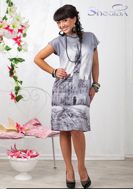 Шeгuдa-10, платье для любого случая. Размеры до 58-го.