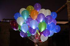 Гелиевые шарики со светодиодной подсветкой