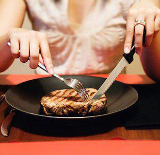 Как правильно есть различные блюда
