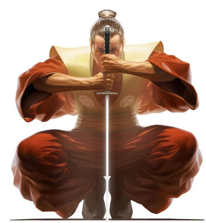 Кодекс самурая бусидо.