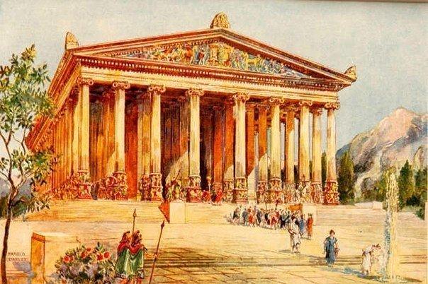 Старые 7 чудес света: Храм Артемиды в Эфесе