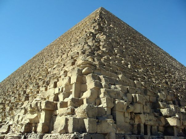Старые 7 чудес света: Пирамида Хеопса в Гизе