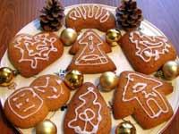 Рождественское печенье Минутка