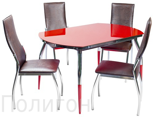 Мебель из стекла и металла. Столы - журнальные, сервировочные или обеденные, подставки или стойки для аудио-видео техники и стеллажи - 2