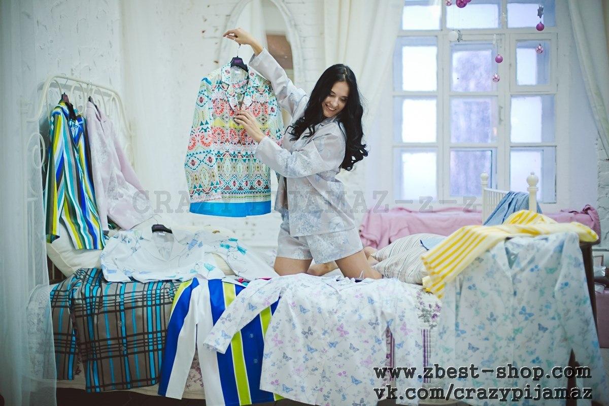 Улётная коллекция пижам от Crazy Pijamaz-z-z!!! Самые модные расцветки на нежнейшем хлопке. Прекрасный подарок к любому празднику