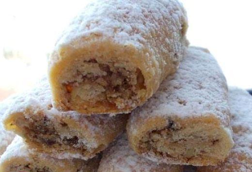 Дворянские рулетики очень вкусные ореховые пирожные по простому рецепту