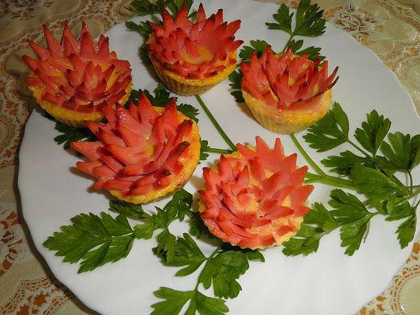 Кексы Хризантемы