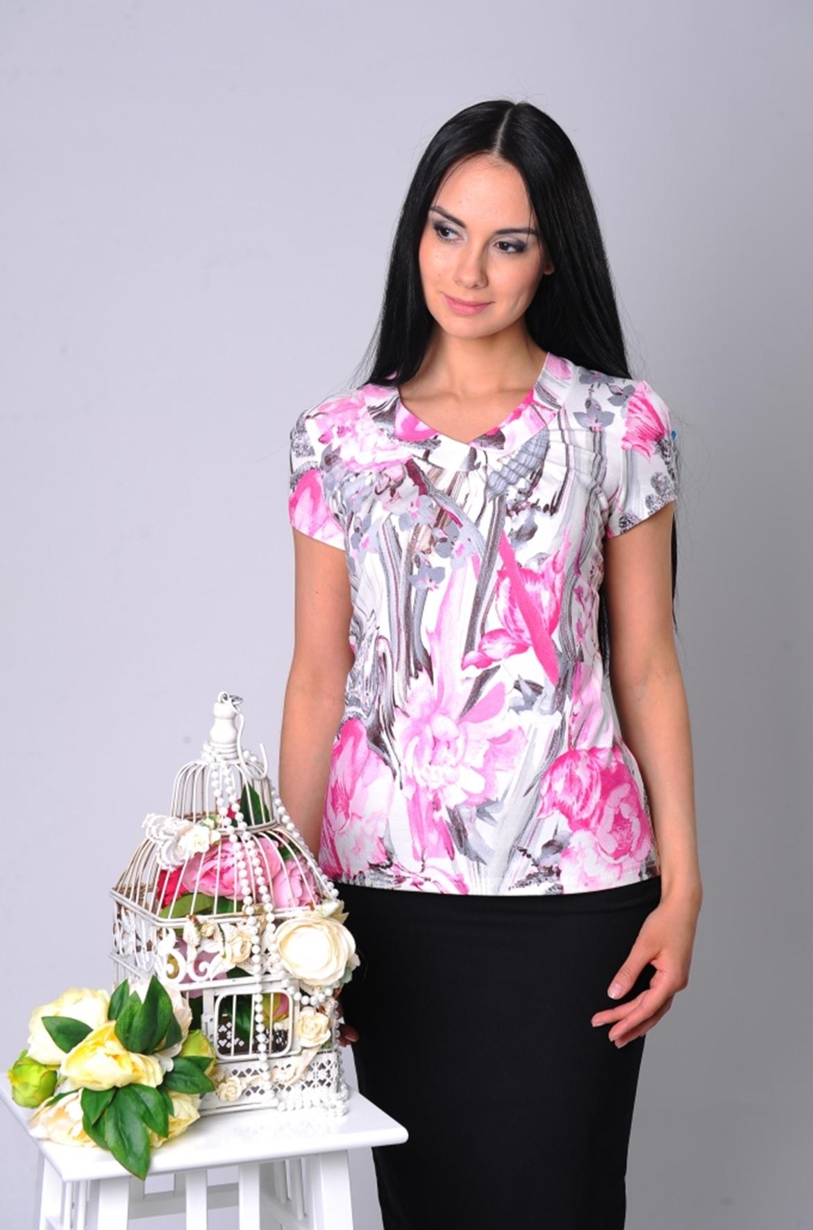 Блузки модные купить оптом