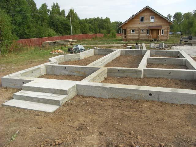 Выбор фундамента для загородного дома