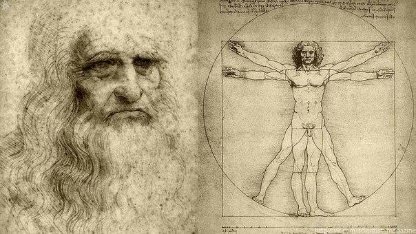 Леонардо да Винчи получил разрешение на диссекцию трупов и составил подробные рисунки с описаниями многих человеческих органов