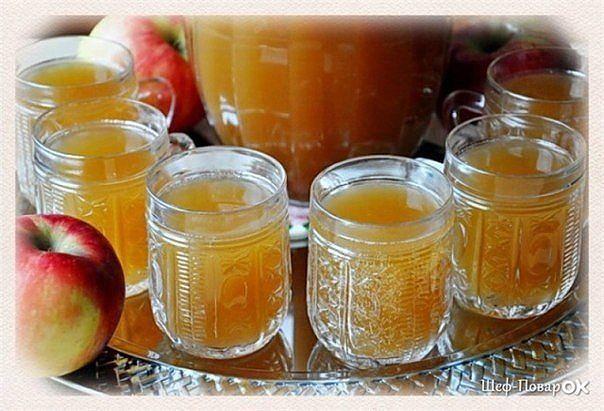 Изумительный квас на яблочном соке - вкусный и полезный!