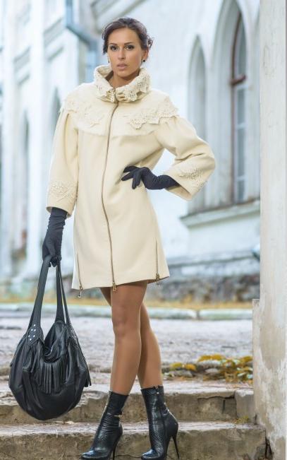 Шикарная Bazhani.-9. Коллекция Весна в Париже - пальто, пончо,туники