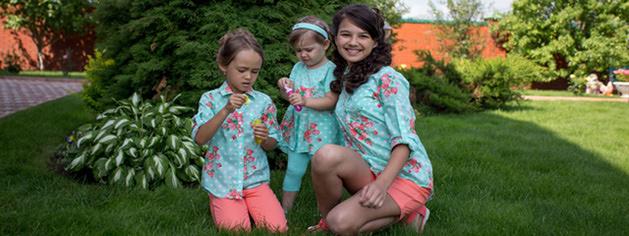 Fleur de Vie дизайнерская детская одежда из Франции - полный гардероб для ребенка на каждый день и для любого
