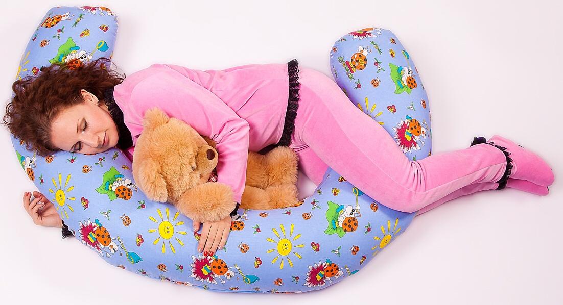 Новый сбор! Подушки для беременных!