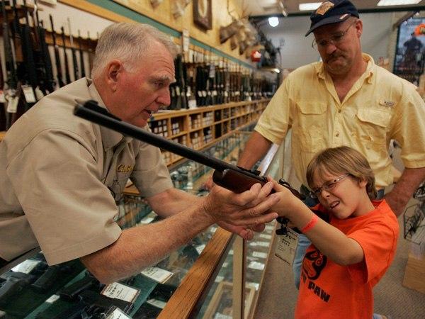 В штате Мэриленд, в США, если у вас меньше одной единицы огнестрельного оружия в пользовании - вам может грозить дополнительный налоговый платеж в $500