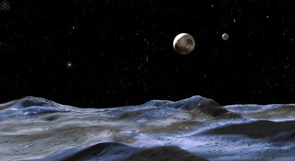 Астрономы предполагают существование за орбитой Плутона еще двух планет, сопоставимых по размерам с Землей