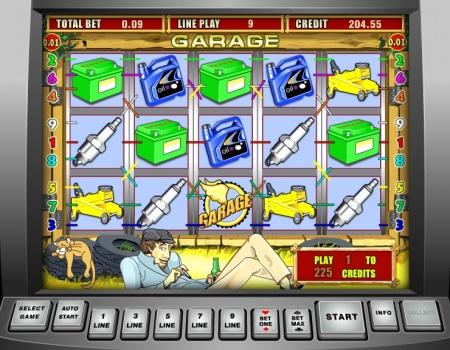 Игровой автомат Garage (Гараж) - самый популярный слот от Игрософта