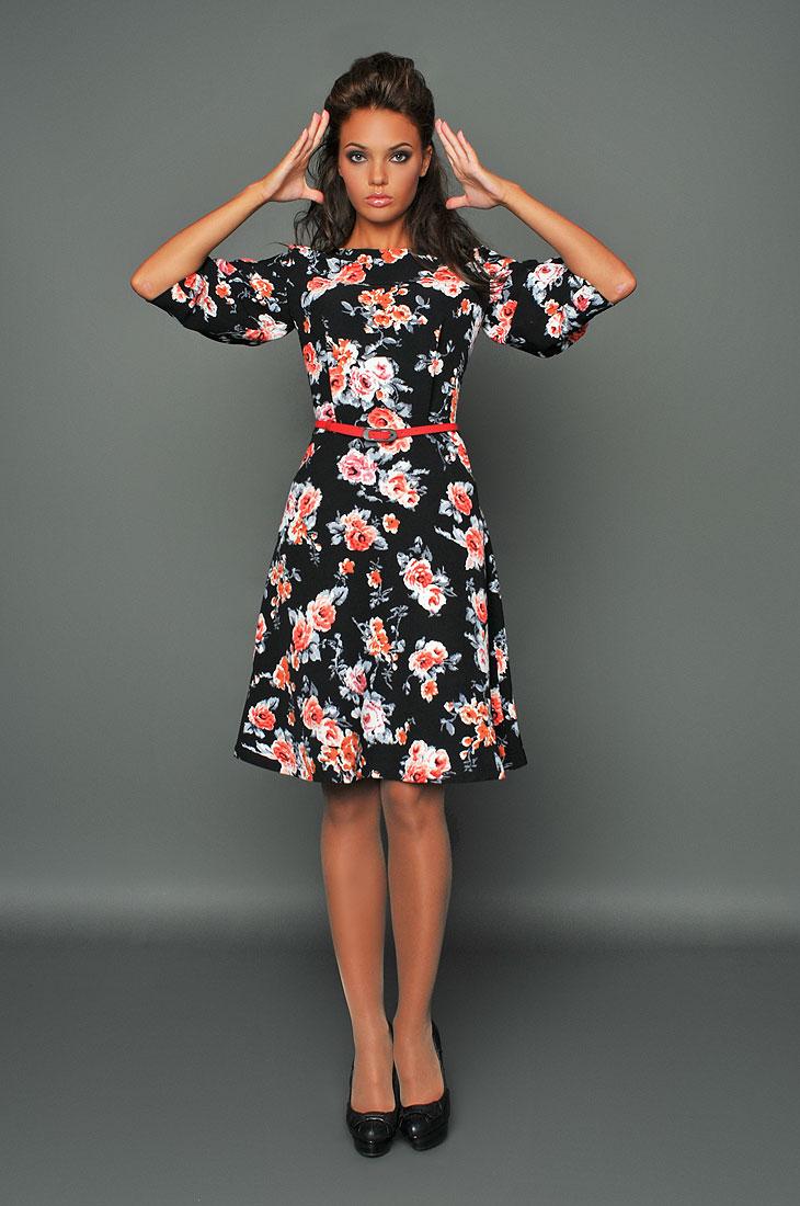 Весна уже скоро! Хочешь ловить мужские взгляды? Женственные платья от M a r I L I n e. Весенне-летние цветочные принты