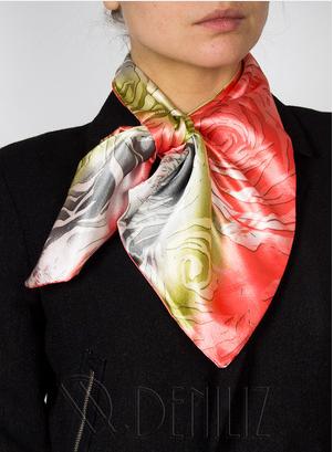 Сбор заказов.Красивый недорогой подарок - Шарфик-франтон! 1 шарфик и 10 способов его завязывания! Цена ниже!Новые