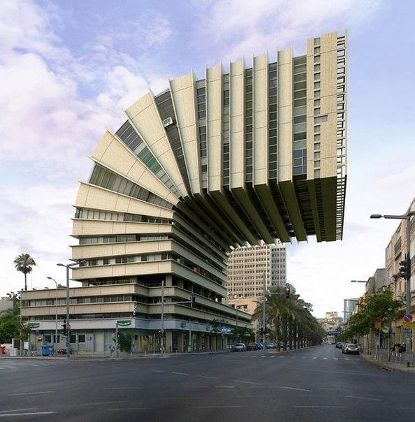 Одно из самых необычных существующих зданий.
