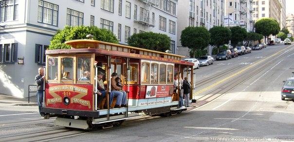 Уже 130 лет ездит по улицам американского города Сан- Франциско