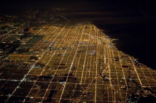 Чикаго третий по размерам город США с населением более 3-х миллионов
