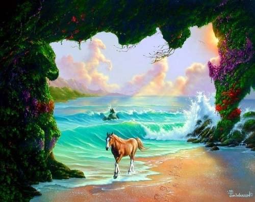 Сколько лошадей на картинке?
