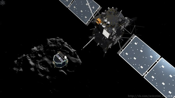 ��� ����������� ������ ������ Philae ������ Rosetta, ������������� �� ����������� ������ 67P